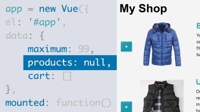 Vue.js Essential Training image