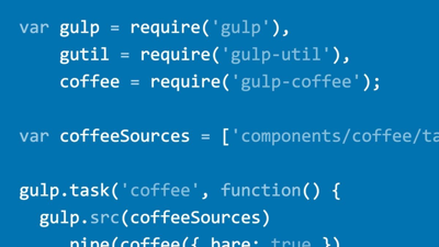 Web Project Workflows with Gulp.js, Git, and Browserify image